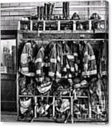 Fireman - Jackets Helmets And Boots Canvas Print
