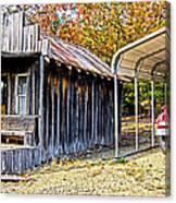 Fireman Cottage Canvas Print