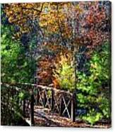 Fire's Creek Bridge Canvas Print