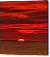 Firesky V3 Canvas Print