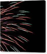 Fireworks Abstract 1 Canvas Print