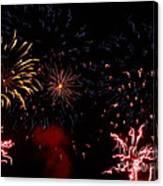 Fireworks At Oshkosh Airventure 2012. 01 Canvas Print