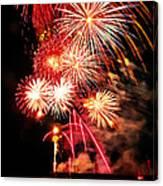 Fireworks Away Canvas Print