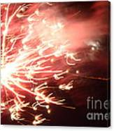Fireworks In Texas 2 Canvas Print