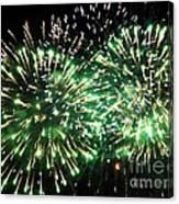 Fireworks Number 4 Canvas Print