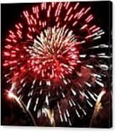Fireworks Number 6 Canvas Print