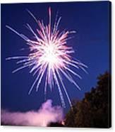Fireworks One Canvas Print