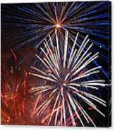 Fireworks Rectangle Canvas Print
