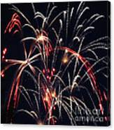 Fireworks Two Canvas Print