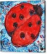 First Lady Bug By Schulmanart Canvas Print
