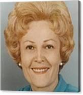 First Lady Patricia Nixon 1912-1993 Canvas Print