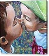 First Love Canvas Print
