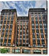 First Niagara Building With Takis Canvas Print
