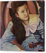 First Recital  Canvas Print