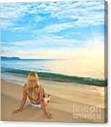 First Sunshine Canvas Print