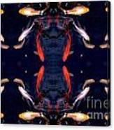 Fish Ballet Canvas Print