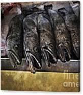 Fish Market Seville Metropol Parasol Canvas Print