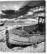 Fishing Boat Graveyard Canvas Print