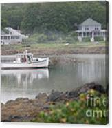 Fishing Boat Kennebunkport Maine Canvas Print