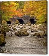 Fishing Bridge I Canvas Print