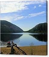 Fishing Conkle Lake Canvas Print