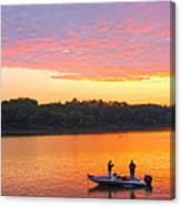 Fishing For Gold Canvas Print