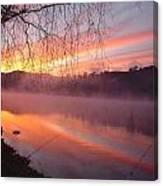 Fishing Lake Eildon Canvas Print
