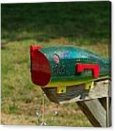 Fishing Lure Mailbox 1 Canvas Print