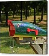 Fishing Lure Mailbox 2 Canvas Print