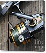 Fishing Rod And Reel . 7d13565 Canvas Print