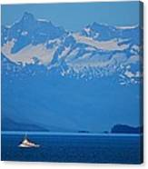 Fishing The Inside Passage Canvas Print