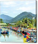 Fishing Village3 Canvas Print