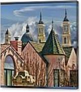 Five Steples Canvas Print