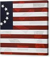 Flag - Constitution Canvas Print