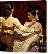 Flamenco Series No 3 Canvas Print