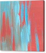 Flames Of Ice Canvas Print