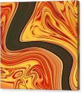 Flaming River Canvas Print
