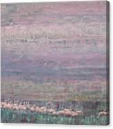 Flamingo Dance 02 Canvas Print