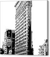 Flatiron Building Bw3 Canvas Print