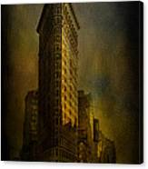 Flatiron Building...my View..revised Canvas Print