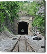 Flatrock Tunnel Canvas Print