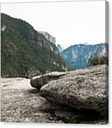 Flattop Rock Yosemite Canvas Print