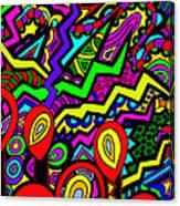 Flicker Canvas Print