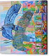 Flight Into Unconsiousness Canvas Print