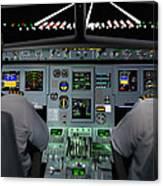 Flight Simulator Canvas Print