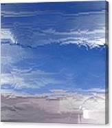 Flight Under Glass Canvas Print