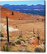 Flinders Ranges Hucks Lookout Canvas Print