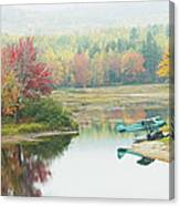 Float Plane On Pond Near Golden Road Maine Photo Poster Print Canvas Print