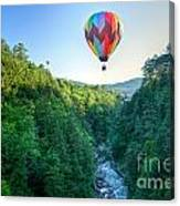 Floating Over Quechee Gorge Canvas Print