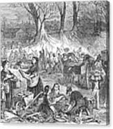 Flood Of Fish, 1867 Canvas Print